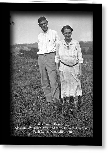 Tears Greeting Cards - Davis Great Grandparents Greeting Card by PJQandFriends Photography