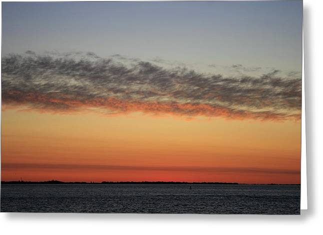 Long Island Photographs Greeting Cards - Dawn  Fire Island Greeting Card by Christopher Kirby