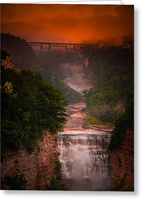 Fall Inspiration Greeting Cards - Dawn Inspiration Greeting Card by Neil Shapiro