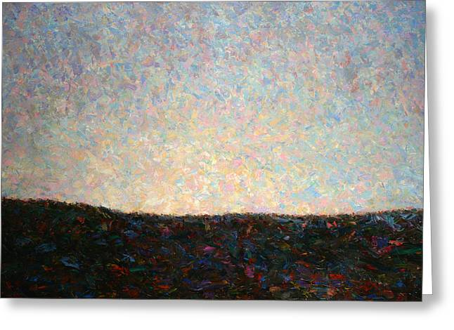 Gogh Greeting Cards - Dawn Greeting Card by James W Johnson
