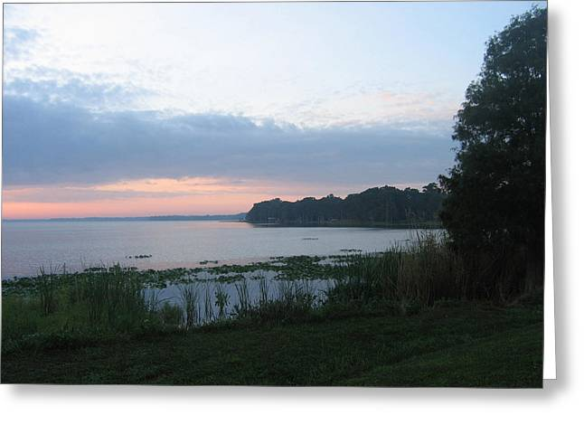 Dawn Over West Cove Greeting Card by Frederic Kohli