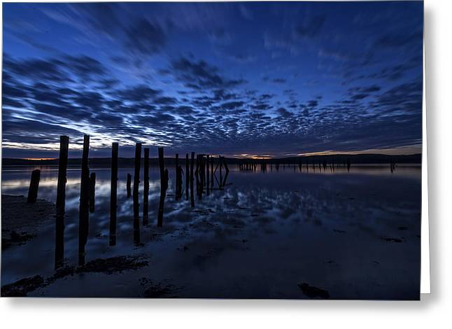 Coastal Maine Greeting Cards - Dawns Early Light Greeting Card by John Vose
