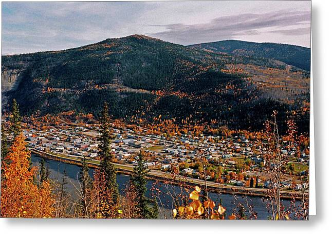 Klondike Gold Rush Greeting Cards - Dawson City - Yukon Greeting Card by Juergen Weiss