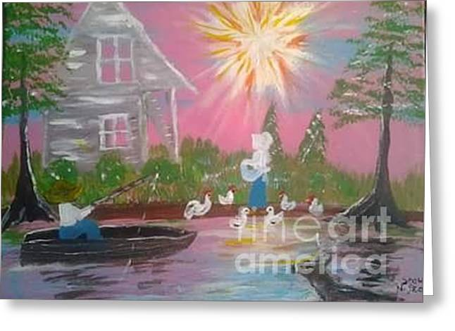 Day In Acadiana Greeting Card by Seaux-N-Seau Soileau