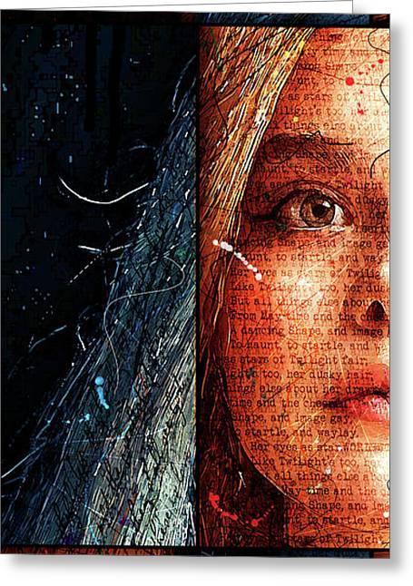 Daydream Panel 1 Greeting Card by Gary Bodnar