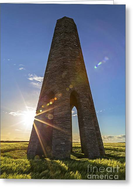 Beauty Mark Greeting Cards - Daymark Greeting Card by Sebastien Coell