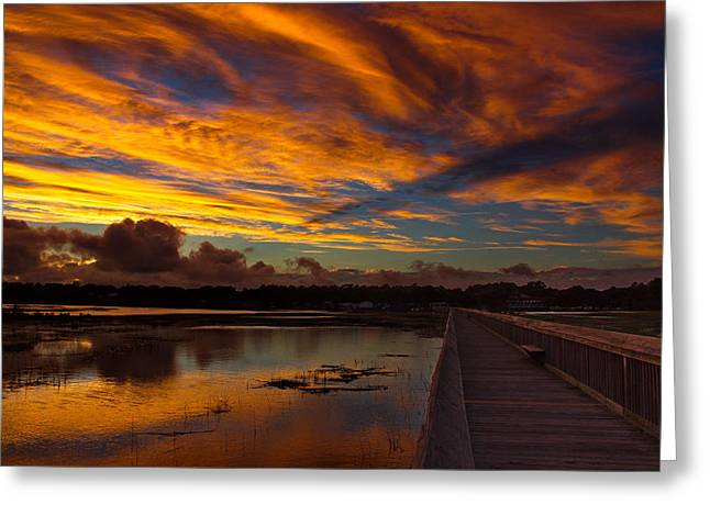 Print Photographs Greeting Cards - Days End Greeting Card by Brian Hamilton