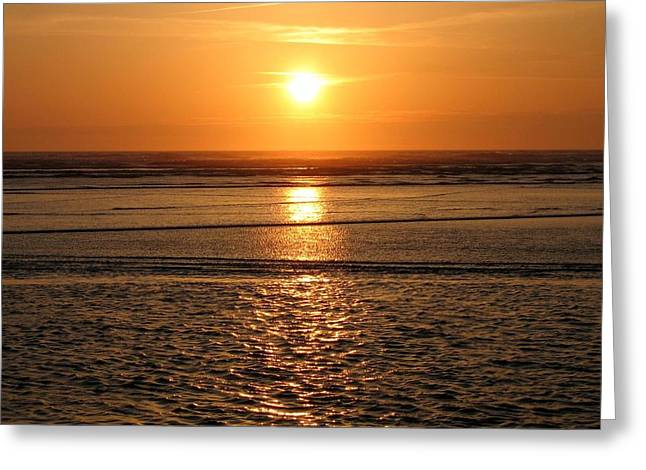 Dazzled Greeting Cards - Dazzling Cannon Beach Greeting Card by Will Borden