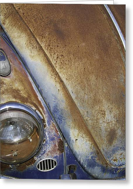 Rusted Cars Greeting Cards - Dead Bug Greeting Card by Jack Welch