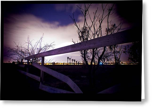 Abandoned Houses Greeting Cards - Dead End Fence Greeting Card by Bryan Steffy