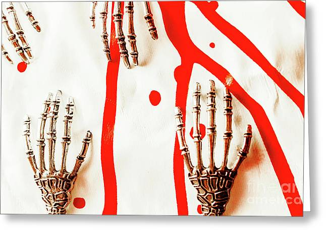 Deadly Design Greeting Card by Jorgo Photography - Wall Art Gallery