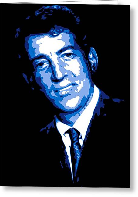 Dino Greeting Cards - Dean Martin Greeting Card by DB Artist