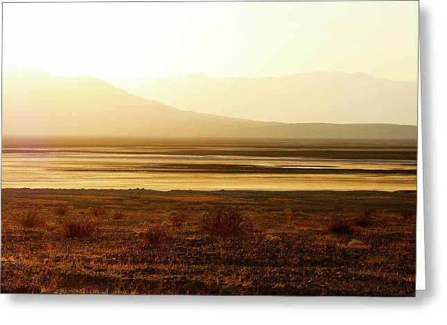 Death Valley - A natural geologic museum Greeting Card by Christine Till