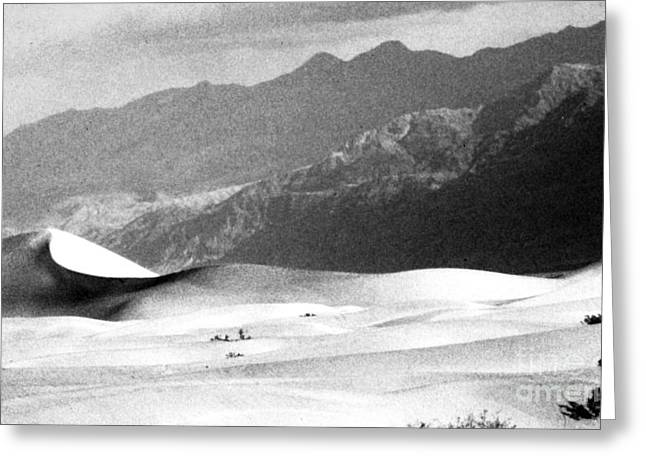 Western Digital Art Greeting Cards - Death Valley 1977 Greeting Card by Norman  Andrus