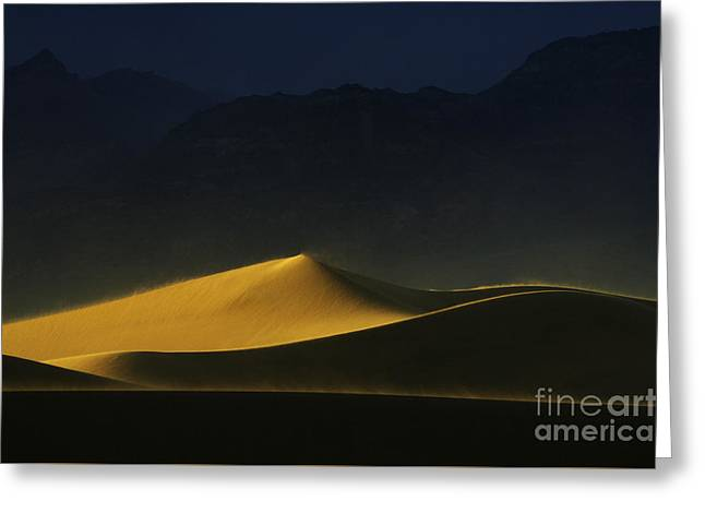 Death Valley California Symphony Of Light 1 Greeting Card by Bob Christopher