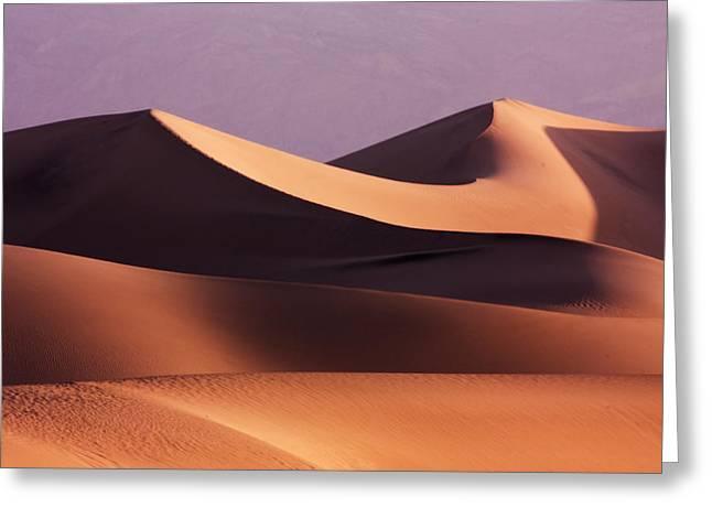 Death Valley Dunes Greeting Card by Matt  Trimble