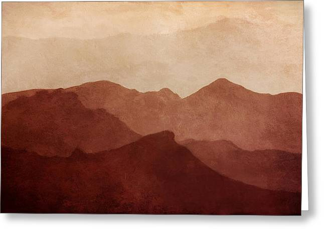 Warm Tones Greeting Cards - Death Valley Greeting Card by Scott Norris