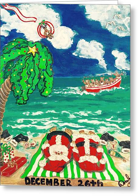 Doralynn Lowe Greeting Cards - Dec. 26th 1996 Greeting Card by Doralynn Lowe