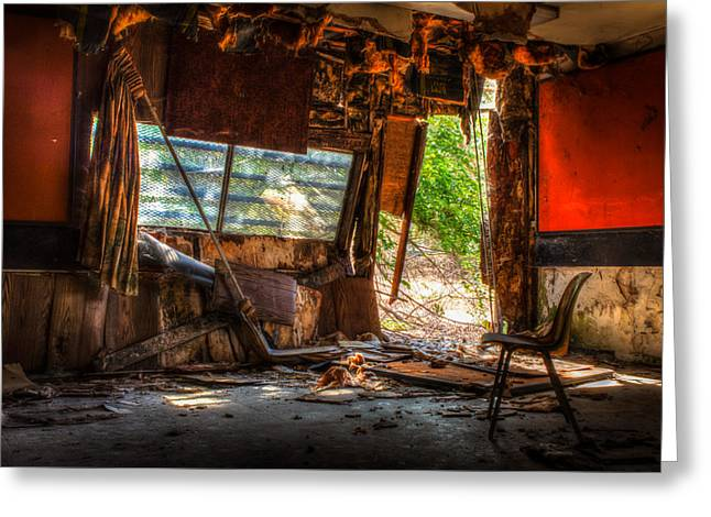 Decay Greeting Card by Michael Dugger