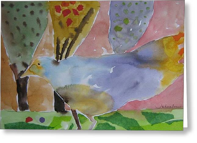 Abstract Expression Greeting Cards - Decision Greeting Card by Toni Johnstone