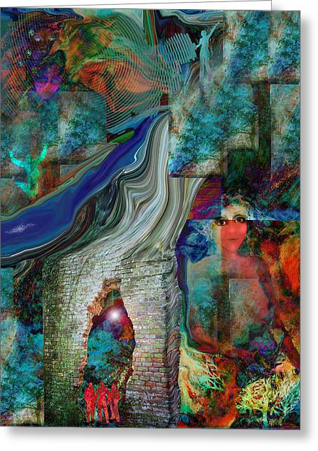 Intuitive Greeting Cards - Decisions Greeting Card by Patricia Motley