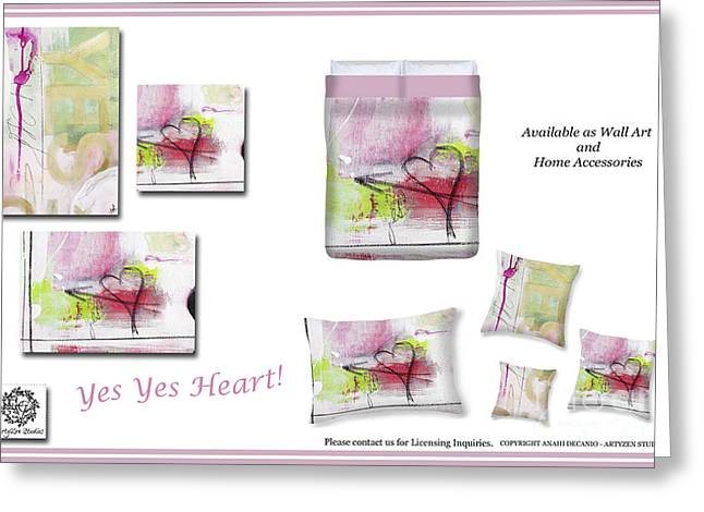 Artyzen Studios Greeting Cards - Decorating Ideas - Inspiration Mood Board  Greeting Card by ArtyZen Studios - ArtyZen Home