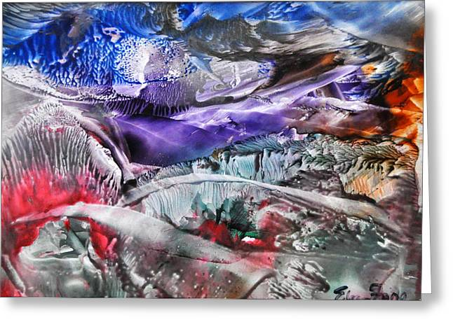 Caves Greeting Cards - Deep Beauty 1 Greeting Card by Eileen  Fong