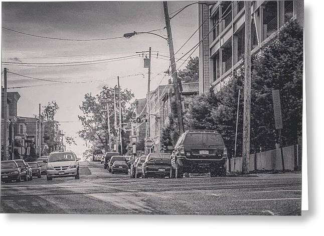 Print Photographs Greeting Cards - Deep in Newburgh Greeting Card by Victory  Designs