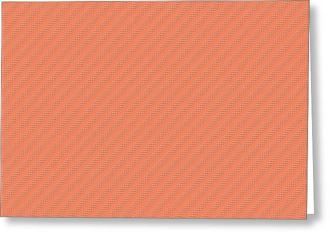 Subtle Colors Greeting Cards - Deep Peach Greeting Card by Bonnie Bruno