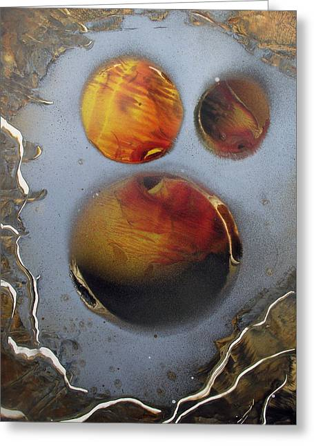 Deep Space Greeting Card by Arlene  Wright-Correll