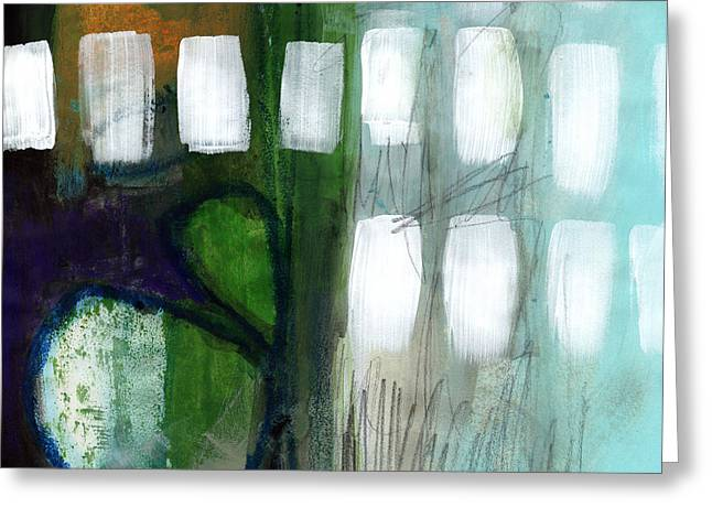 Deeper Meaning Greeting Card by Linda Woods