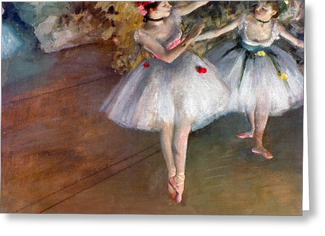 DEGAS: DANCERS, c1877 Greeting Card by Granger