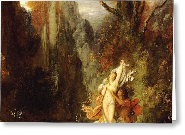 Dejanira  Autumn Greeting Card by Gustave Moreau