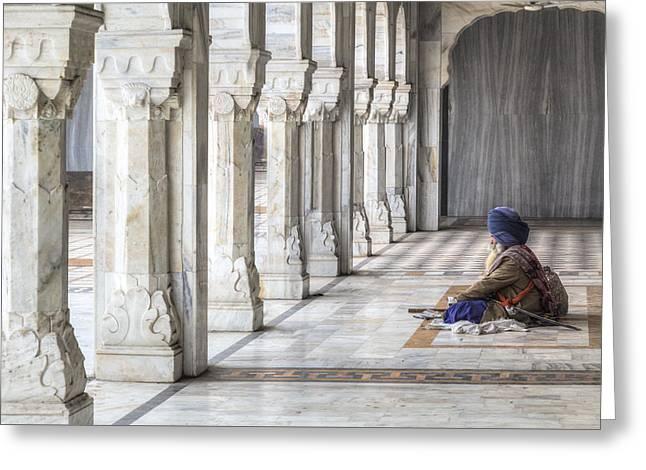 Delhi - India Greeting Card by Joana Kruse