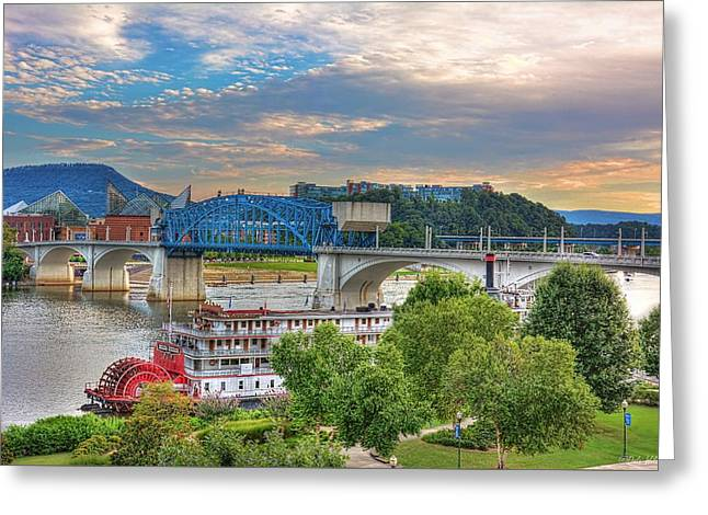 Tennessee Landmark Greeting Cards - Delta Queen 2 Greeting Card by Dale Wilson