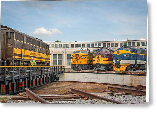 Alco Locomotives Greeting Cards - Demonstrator 2396 Greeting Card by Rob Crawford
