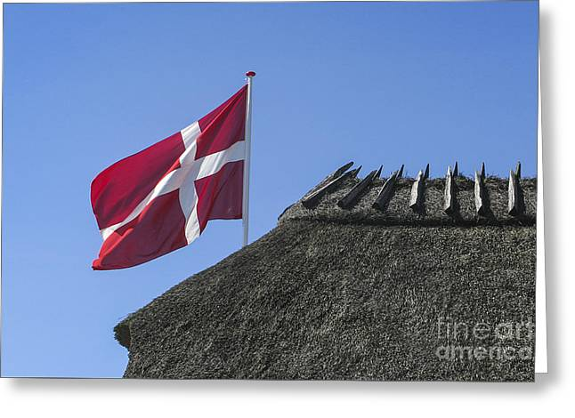 Kim Photographs Greeting Cards - Old Danish Symbols Greeting Card by Kim Lessel