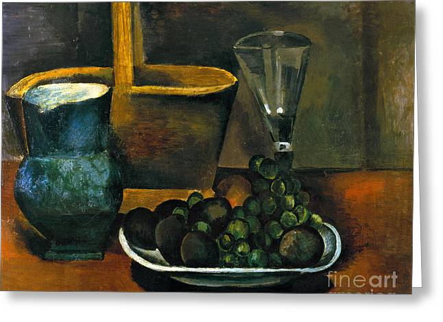 Derain Greeting Cards - Derain: Still Life, 1911 Greeting Card by Granger