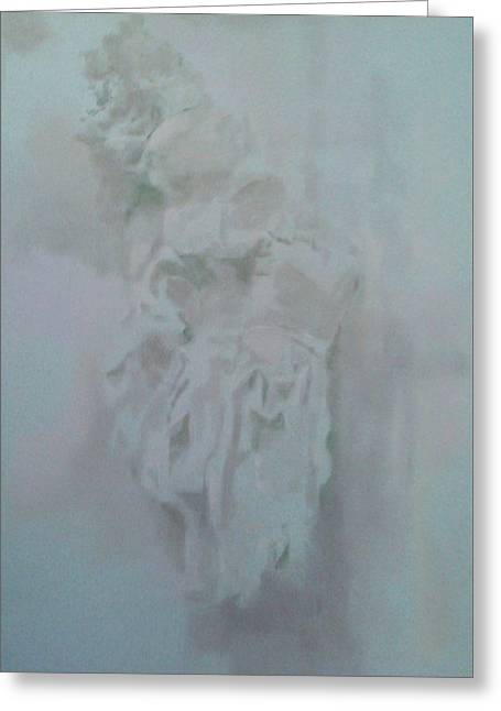 Biblical Pastels Greeting Cards - Descent from the Cross first stage Greeting Card by Paez  ANTONIO