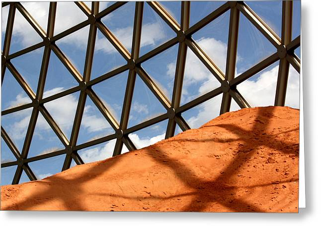 Desert Dome Greeting Cards - Desert Dome Greeting Card by Karen M Scovill