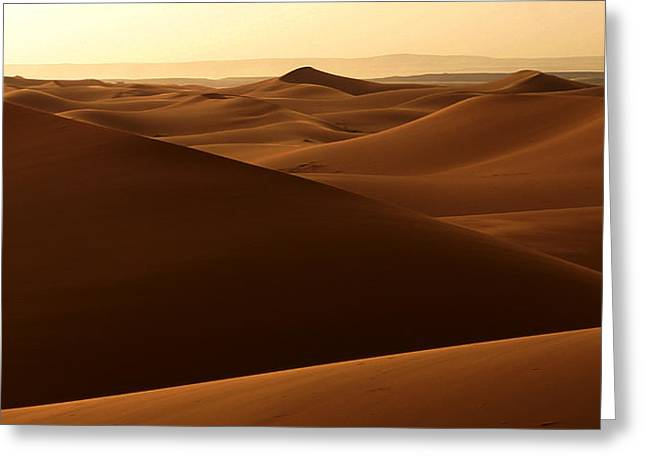 Northern Africa Greeting Cards - Desert Impression Greeting Card by Ralph A  Ledergerber-Photography