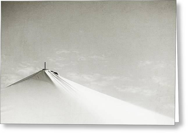 Desert Peak Greeting Card by Scott Norris