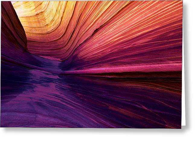 Desert Rainbow Greeting Card by Chad Dutson