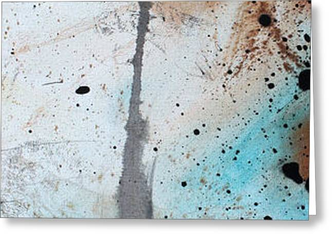 Desert Surroundings 3 by MADART Greeting Card by Megan Duncanson