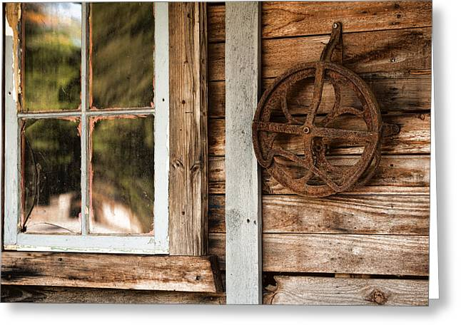 Empty House Greeting Cards - Deserted Homestead Greeting Card by Bonnie Bruno
