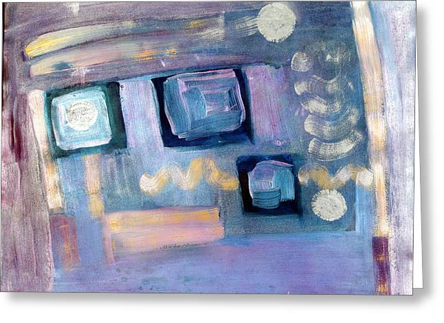 Desk Mixed Media Greeting Cards - Desktop  Greeting Card by Don  Wright