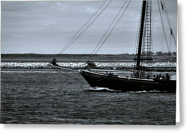 South Boston Prints Greeting Cards - Destinations Greeting Card by Joanne Brown