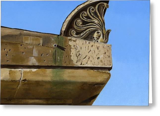 Photorealism Greeting Cards - Detail Lighthouse Egmond Greeting Card by Rob De Vries