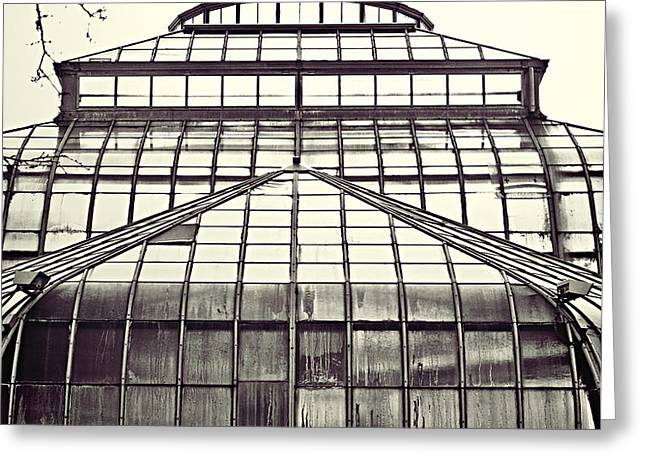 Detroit Belle Isle Conservatory Greeting Card by Alanna Pfeffer