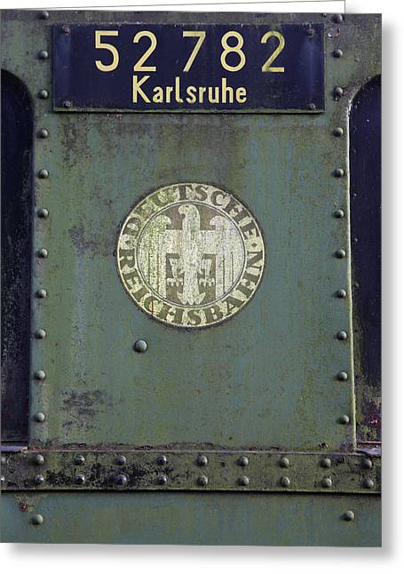 Zug Greeting Cards - Deutsche Reichsbahn Greeting Card by Falko Follert